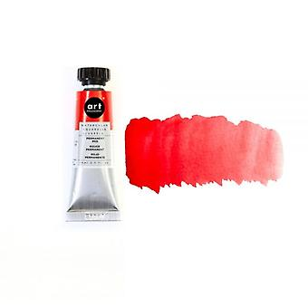 Art Philosophy Watercolor Tube Permanent Red