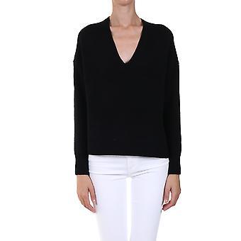 360 Cashmere 42258blk Women's Black Cashmere Sweater