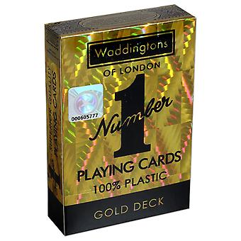 Gold Waddingtons No.1 Playing Cards