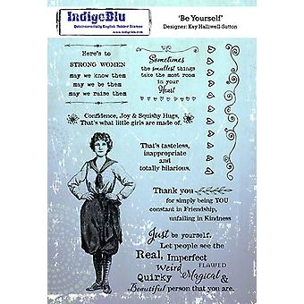 Indigoblu be yourself A5 Stempel