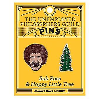 مجموعة دبوس - UPG - بوب روس وشجرة 5083