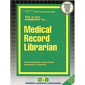 Medical Record Librarian: Passbooks Study Guide