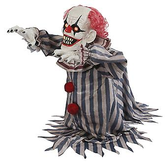 Jumping Clown Prop Halloween Trick Or Treat Decoration
