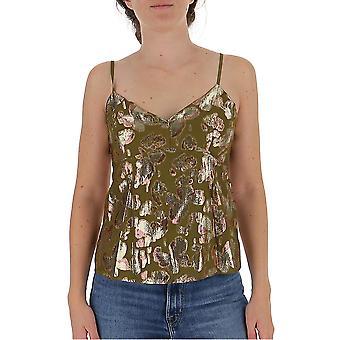 L'autre Koos B1320152101f099 Women's Multicolor Viscose Top