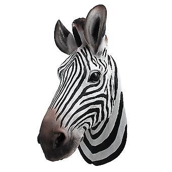 Botswana-Zebra Kopf Wall Mount Statue Büste