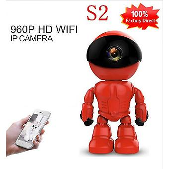 S2 Ip Camera-robot 1080p Hd Wifi Wireless Ptz Two-way Audio P2p Onvif Night-vision Network Baby Monitor Security-camera