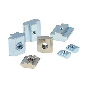 T Block Square Nuts, T-track Sliding Hammer Nut For Fastener Aluminum