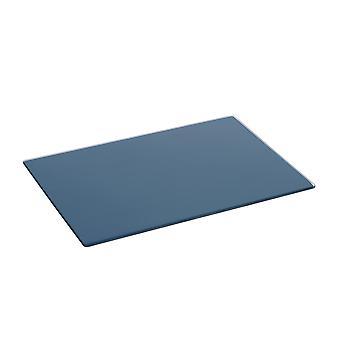Glass Worktop Saver - Modern Style Rectangular Chopping Board - Hague Blue - 30 x 20cm