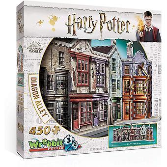 Wrebbit 3D Puzzle Harry Potter Diagon Alley Kids Toy