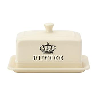 English Tableware Co. Majestic Butter Dish