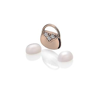 Anais Hot Diamonds Anais Rose placat cu aur handbag Charm AC119