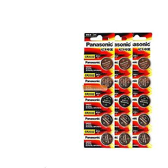 15pcs opprinnelige 3v knapp batterier for watch / datamaskin