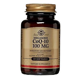 Solgar Megasorb CoQ-10, 100 mg, 60 SoftGels