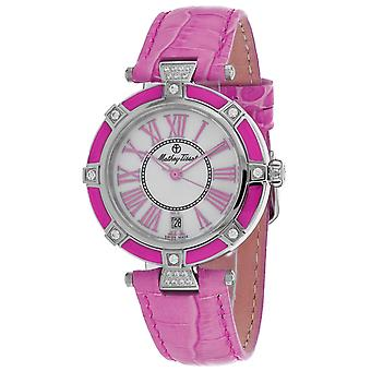 Mathey Tissot Mujeres's Classic Mop Dial Watch - D6001ALR