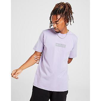 New Nicce Men's Base Short Sleeve T-Shirt Purple