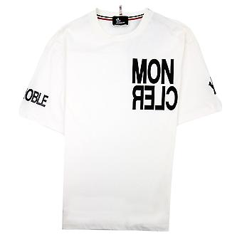 Moncler #moncler Grenoble T-shirt Weiß