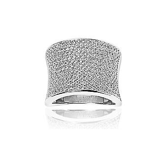 Sif Jakobs Ring Dinami Silver Collection SJ-R0047-CZ - Size 60