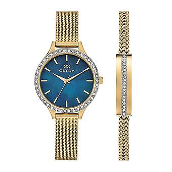 Women's Watch CLYDA L-APOs;ELEGANTE CLA0772PDIX