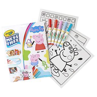 Crayola pegga pig color wonder mess free book, multi, one size