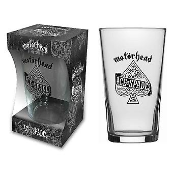 Motorhead Beer lasi Ace of Spades Band logo uusi virallinen boxed
