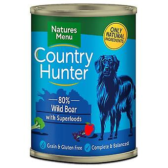 Natures Menu Country Hunter Dog Food Can Wild Boar (Dogs , Dog Food , Wet Food)