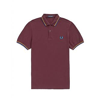 Polo Fred Perry Twin Tipped Fred Perry Shirt Violet