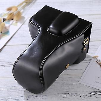 Full Body Camera PU Leather Case Bag for Nikon D5300 / D5200 / D5100 (18-55mm / 18-105mm / 18-140mm Lens) (Black)
