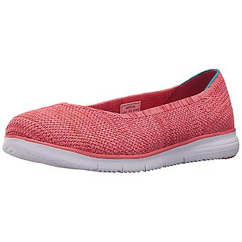 Propét Womens Travel fit flex Closed Toe Slide Flats