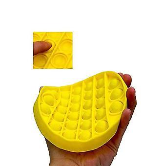Push Bubble Fidget -stress Reliever Squishy, Sensory Toy