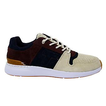 Toms Gravel Suede Arroyo Low Lace Up Navy Beige Mens Trainers 10013284