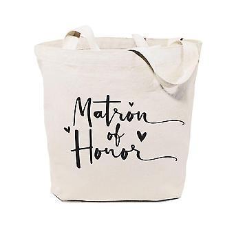 Matron Of Honor-cotton Canvas Tote Bag