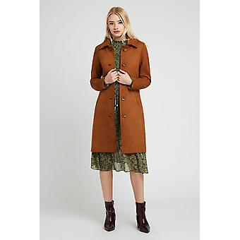 Louche Emerson Suedette Jacket Brown-14