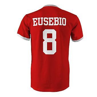 أوزيبيو 8 البرتغال البلد تي شيرت في المسابقة