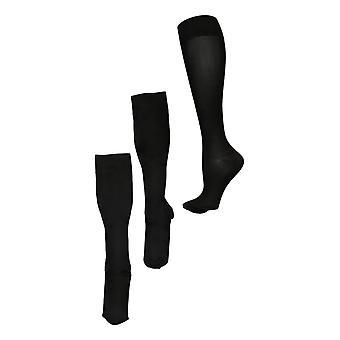 Legacy Men's L Compression Trouser Socks Set of 3 Nylon Socks A370511