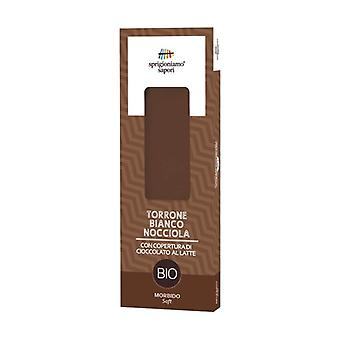 Hazelnut nougat covered with milk chocolate 100 g