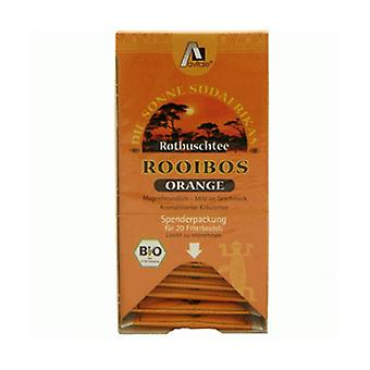 Organic Orange Rooibos Infusion 20 packets
