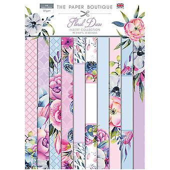 The Paper Boutique - Floral Daze Collection - Insert Collection
