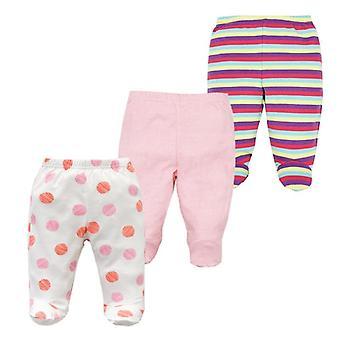 Pantalones de bebé recién nacidos 100% algodón