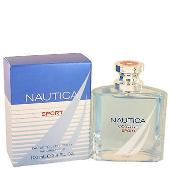 Nautica Voyage Sport Eau De Toilette Spray Nautica 3,4 oz Eau De Toilette Spray