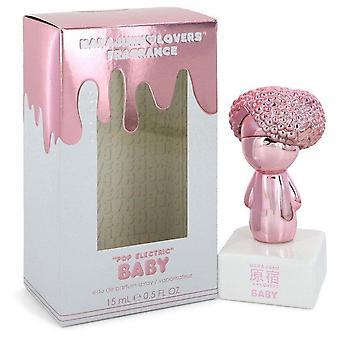 Harajuku Lovers Pop Electric Baby Eau De Parfum Spray By Gwen Stefani 0.5 oz Eau De Parfum Spray