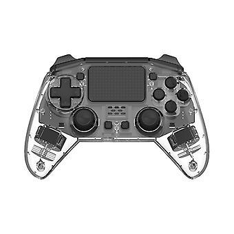 Läpinäkyvä muotoilu DoubleShock Bluetooth Langaton PS4-ohjain, Crystal