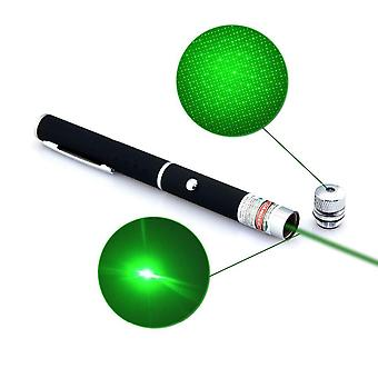 Laser Pointer Pen, Powerful Caneta, Green Verde With Star Cap