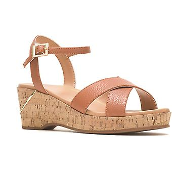 Hush chiots maya qtr strap wedge sandal différentes couleurs 31953