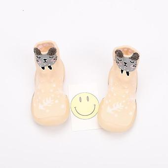 Baby Toddler Shoes, Non-slip Animal Fox/owl Floor Anti-off Foot Socks
