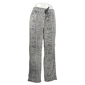Koolaburra by UGG Women's Frosted Silky Plush Pajama Pants Gray A386537