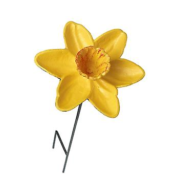 Daffodil Iron Bird Feeder By Heaven Sends
