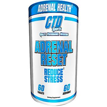 CTD Sports Adrenal Reset 60 Tabletten