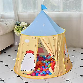 Chick Pattern Dzieci Kryty Odkryty Namiot Play House Ocean Balls Game Castle