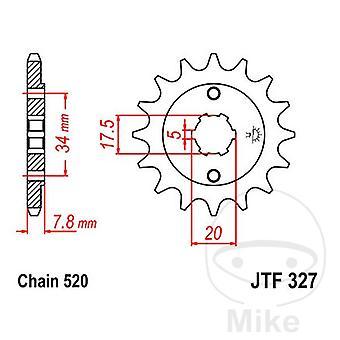 Potrójny-S Stalowa przednia zębatka 13 zębów JTF327-13