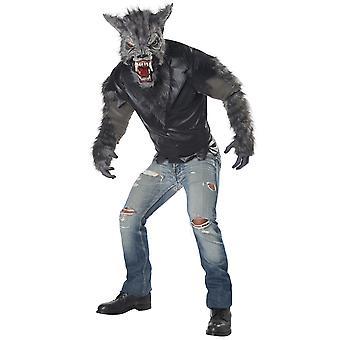 Volwassen weerwolf vermomming